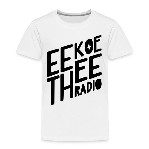 Logo_Black_Eekoethee - Kinderen Premium T-shirt