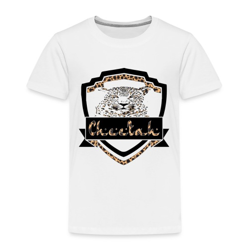 Cheetah Shield - Kids' Premium T-Shirt
