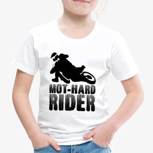 Mot-Hard_Rider_black - Maglietta Premium per bambini