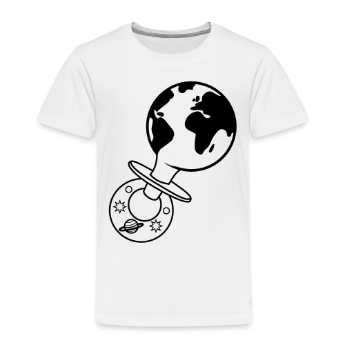 world pacifier - Kinderen Premium T-shirt