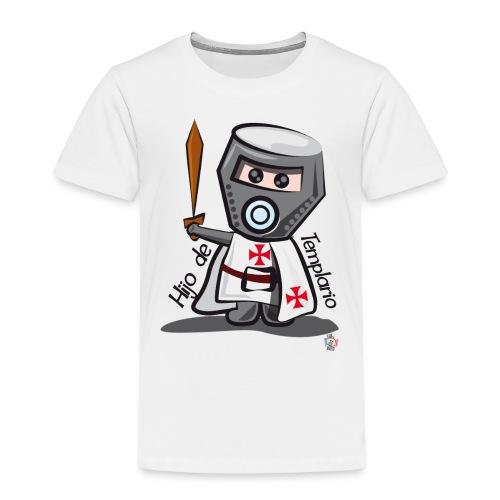 Hijo de templario (Casco) - Camiseta premium niño