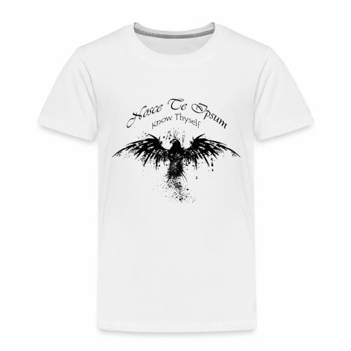 Eagle Splatter Design - Kids' Premium T-Shirt