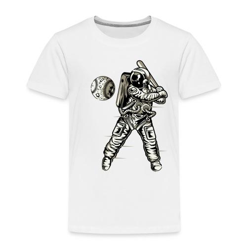 Space Baseball Astronaut - Kids' Premium T-Shirt