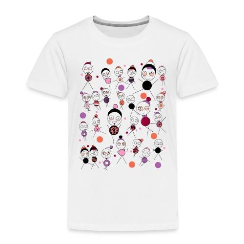 Bonhommes en Hiver - T-shirt Premium Enfant