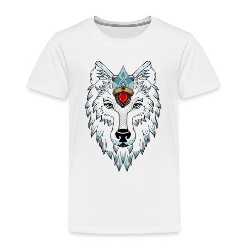 female wolf newschool - T-shirt Premium Enfant