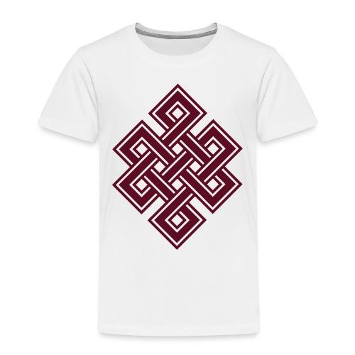 Endlos Knoten, Tibet, Unendlich, Buddhismus, Glück - Kinder Premium T-Shirt