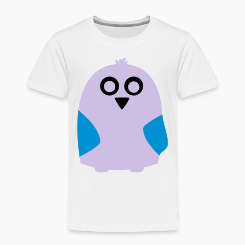 Lavender Pale Owl - Kids' Premium T-Shirt