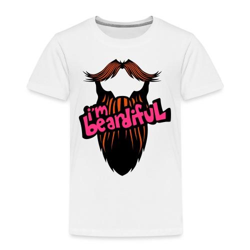 citation barbe i m beardiful barbu humou - T-shirt Premium Enfant
