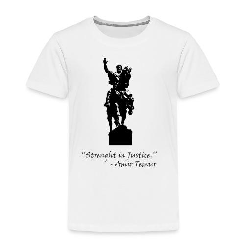 Amir Temur - Kinderen Premium T-shirt