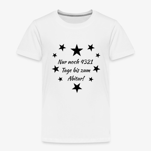 Schulanfang Black - Kinder Premium T-Shirt