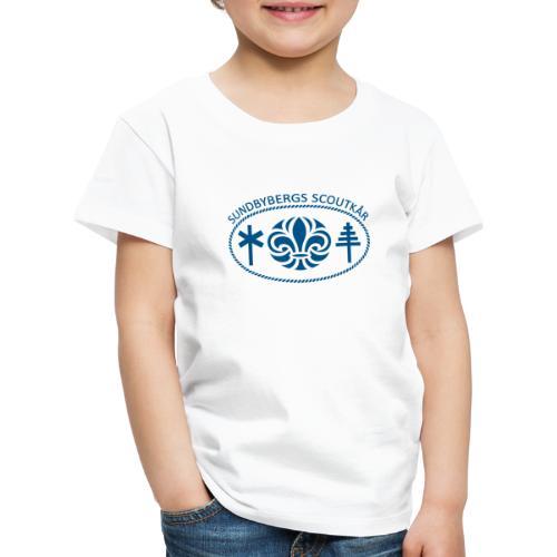 Sundbybergs scoutkår - Premium-T-shirt barn