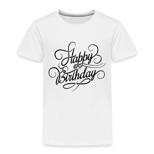 happy birghday - Koszulka dziecięca Premium
