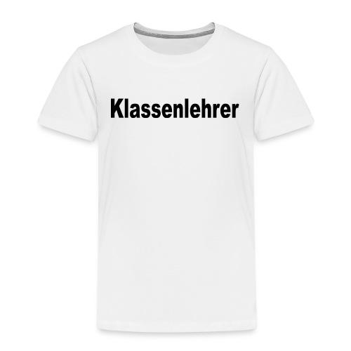 Lehrer Klassenlehrer Abi - Kinder Premium T-Shirt
