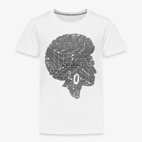 Black Is Beautiful Afro - T-shirt Premium Enfant