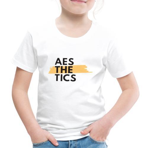 AESTHETICS art - Kinder Premium T-Shirt