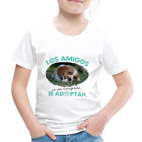 Adopta y Salva una Vida - Camiseta premium niño
