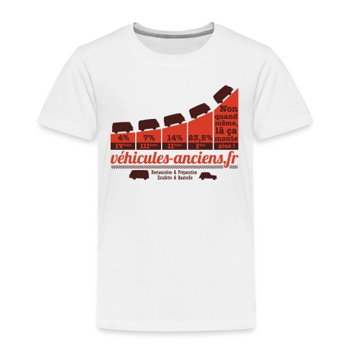 TshirtPourcentagesEstafette png - T-shirt Premium Enfant