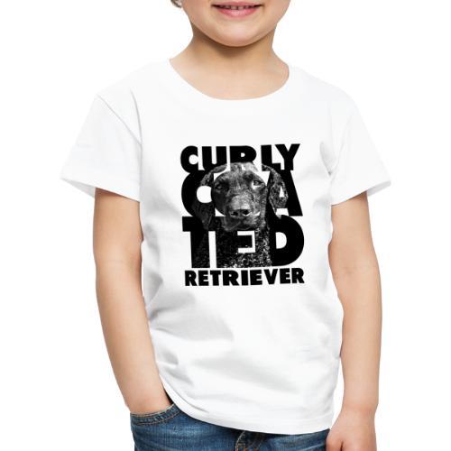 Curly Coated Retriever II - Lasten premium t-paita
