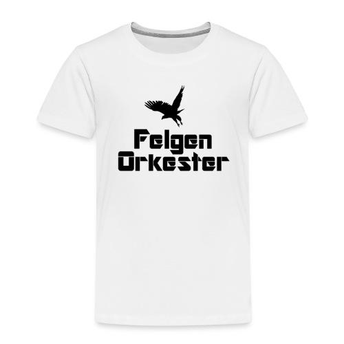 t skjorte sortlogo png - Premium T-skjorte for barn
