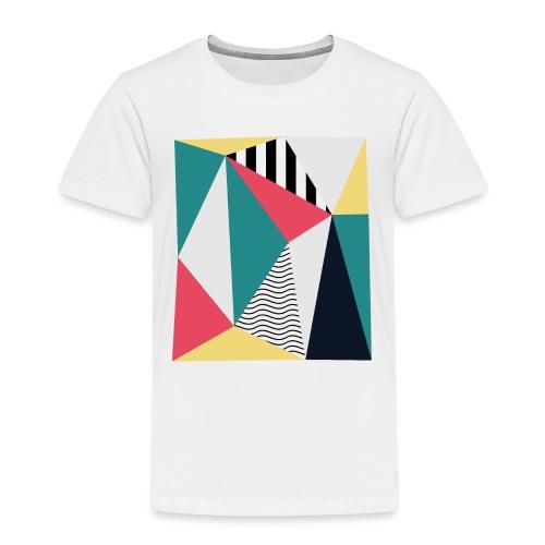 Triangulos - Camiseta premium niño