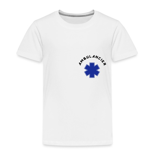 ambulancier logo - T-shirt Premium Enfant