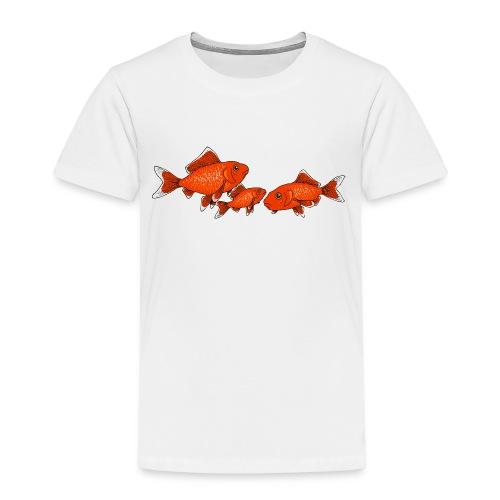 Poissons rouges - T-shirt Premium Enfant