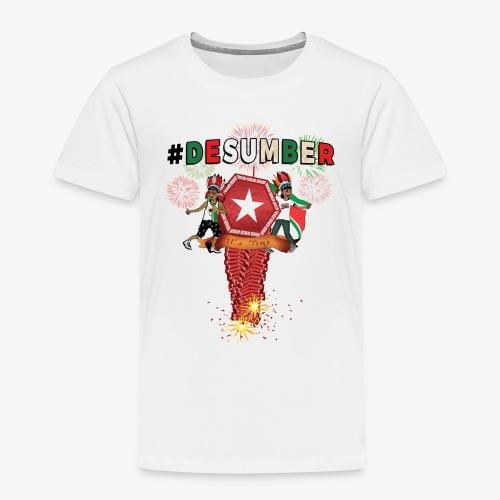 #DESUMBER - Kinderen Premium T-shirt