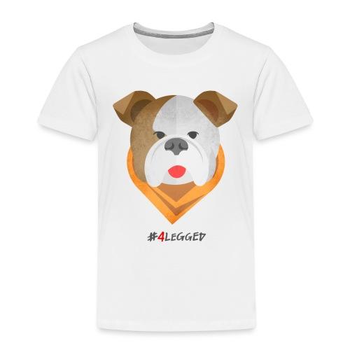Bulldog - Maglietta Premium per bambini