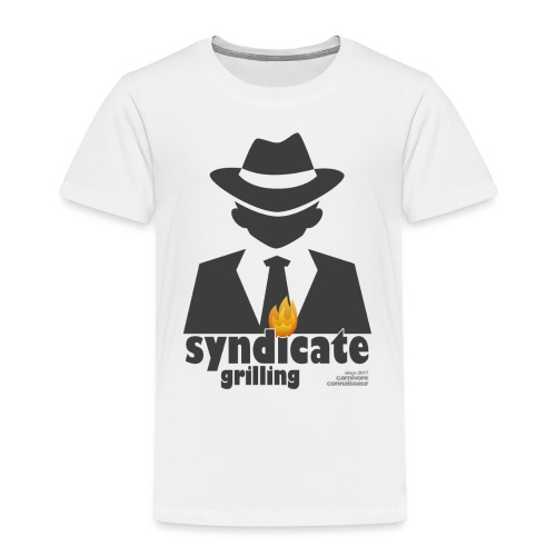 Syndicate Grilling - Mafia Grillshirt - Kinder Premium T-Shirt