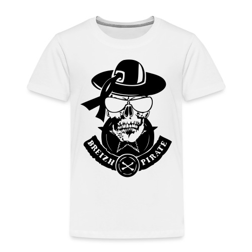 renegade breizh pirate gang tete de mort crane - T-shirt Premium Enfant
