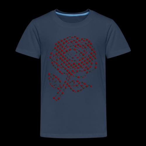 Rose aus Rosen - Kinder Premium T-Shirt