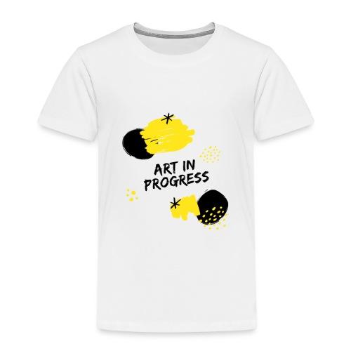 Art in Progress - Maglietta Premium per bambini