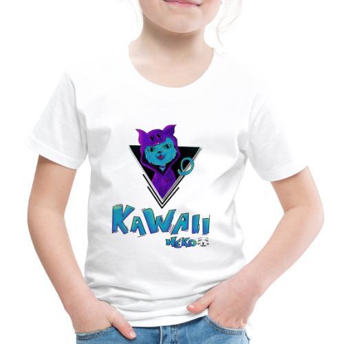 Neko Kawaii - Camiseta premium niño