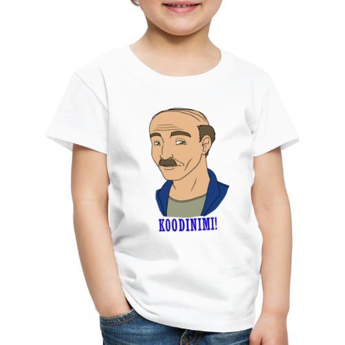 KOODINIMI - Lasten premium t-paita