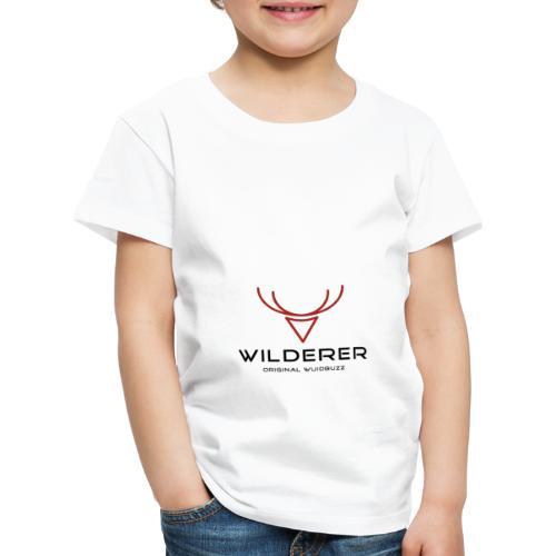 WUIDBUZZ | Wilderer | Männersache - Kinder Premium T-Shirt