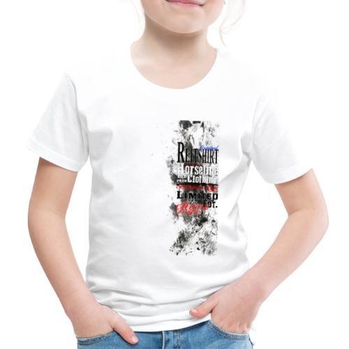 Limited Edition Reit Shirt Pferde Reiten - Kinder Premium T-Shirt