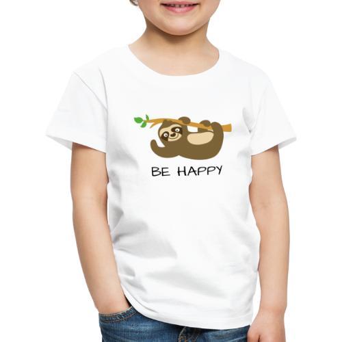 BE HAPPY - Kinder Premium T-Shirt