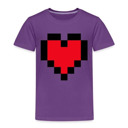 Pixel Heart - Kinderen Premium T-shirt
