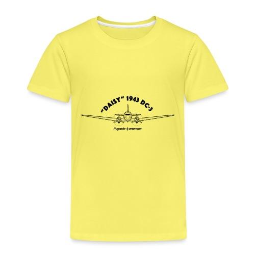 Daisy Blueprint Front 1 - Premium-T-shirt barn
