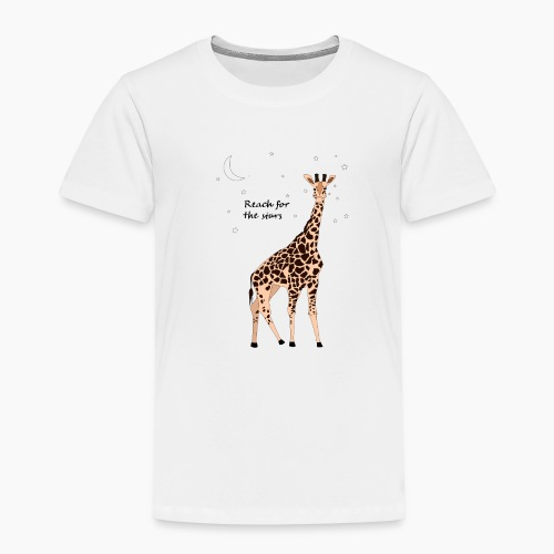 Giraffe - Reach for the stars - Kids' Premium T-Shirt