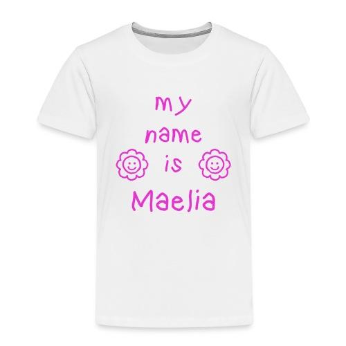 MAELIA MY NAME IS - T-shirt Premium Enfant