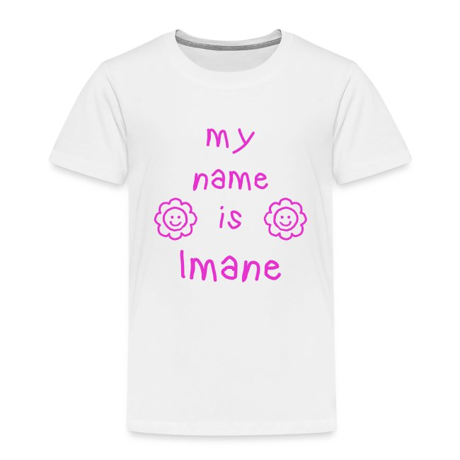 IMANE MY NAME IS