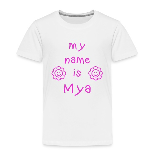 MYA MY NAME IS - T-shirt Premium Enfant