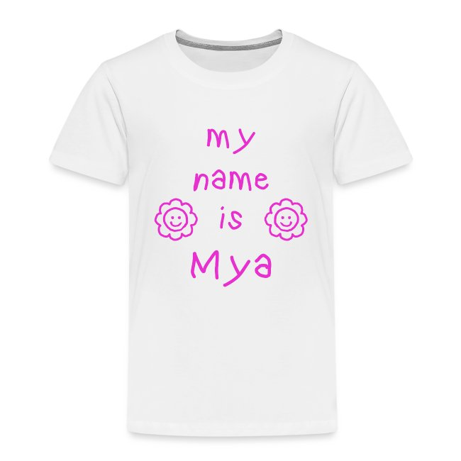 MYA MY NAME IS