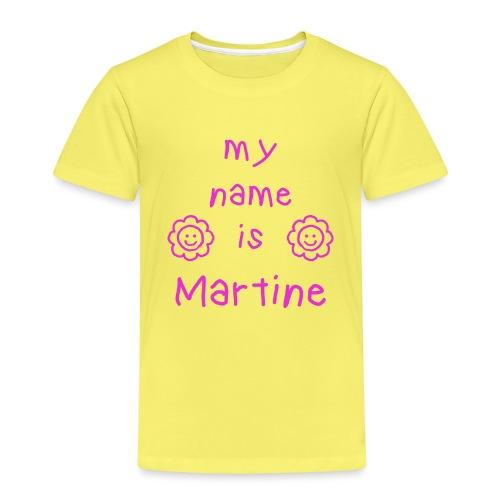 MARTINE MY NAME IS - T-shirt Premium Enfant