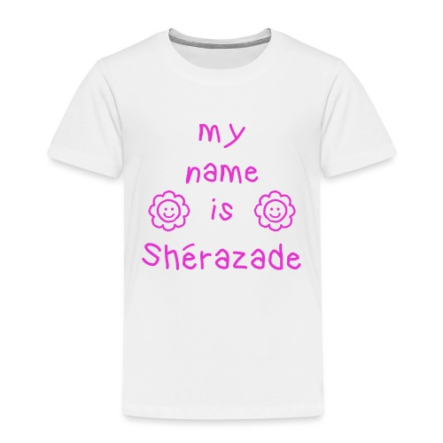 SHERAZADE MY NAME IS - T-shirt Premium Enfant