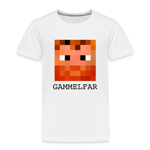 Gammelfar logo - Børne premium T-shirt