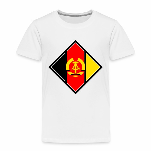 DDR coat of arms stylized - Kids' Premium T-Shirt