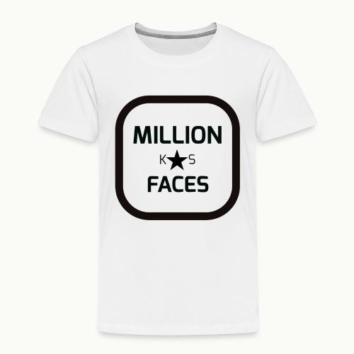 xmillionfacesx - Kinder Premium T-Shirt