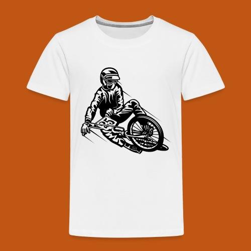 BMX / Mountain Biker 03_schwarz - Kinder Premium T-Shirt